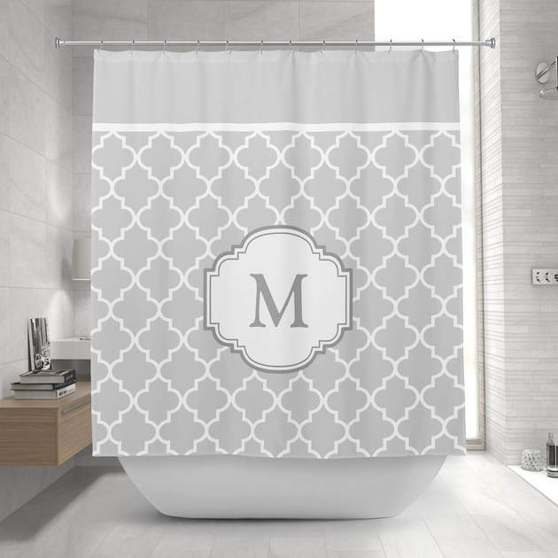 Classy Shower Curtain personalized shower curtains | mimogifts